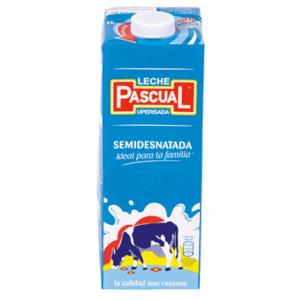 informacion nutricional de leche semidescremada
