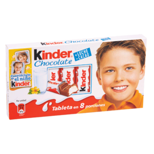 Barritas chocolate Kinder