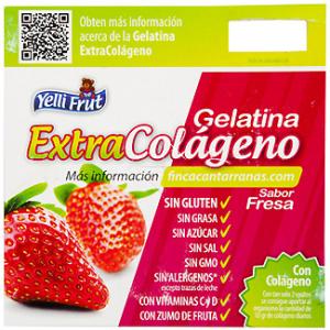 Calorias de la gelatina con sabor