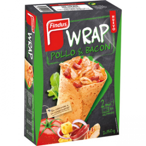 Wrap pollo con bacon Findus