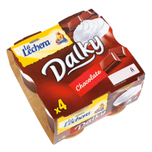 Dalky chocolate y nata La Lechera
