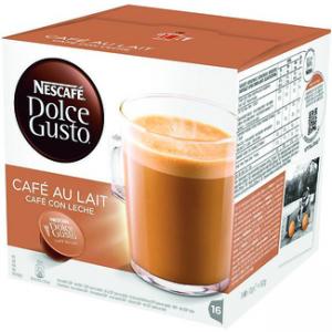 calorias un cafe con leche sin azucar