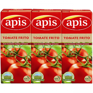 tomate frito hidratos de carbono