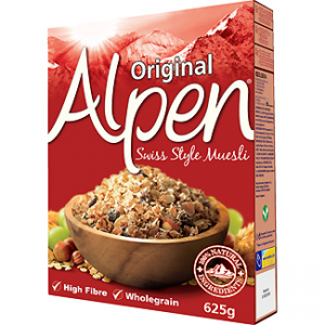Muesli original 100% natural Alpen