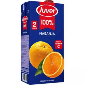un zumo de naranja cuantas calorias tiene