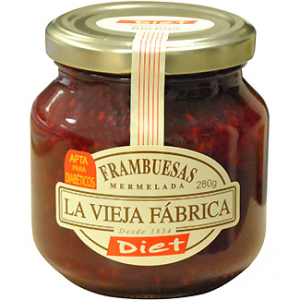 Mermelada de frambuesa sin az car diet la vieja fabrica for Azucar gelificante