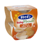 Merienda natilla-galleta Hero Baby