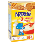 Papilla 8 cereales galleta Nestlé