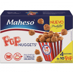 Pop nuggets palomitas de pollo Maheso
