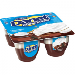 Danet Doble placer natillas de chocolate con nata Danone