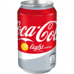 Coca-Cola light al limón